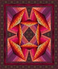 Image result for lily quilt block pattern