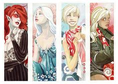 Riikka Auvinen's Watercolors Make For Wonderful Princesses, Mutants, Demons and More [Art]