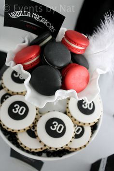Photo 13 of Roaring / Birthday Roaring Black, White and Red Dessert Table Roaring 20s Birthday Party, Roaring Twenties Party, 30th Birthday Parties, 20th Birthday, Birthday Ideas, Thirtieth Birthday, Husband Birthday, Cake Birthday, Birthday Celebration