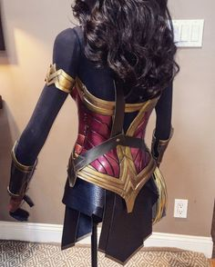 Wonder Woman style movie costume dawn of justice inspired Gal Comic Con 2862966710b7