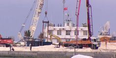 """BBC expose """"factory create islands"""" of China in the Spratlys"""