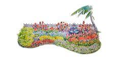 Flowers For Florida Color Border | Costa Farms