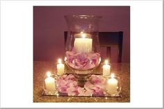 candles for wedding centerpieces