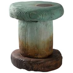 Carlo & Mary-Lynn Massoud Stool - Autopsy #6 Mary-Lynn Carlo Massoud African Tribal Bronze