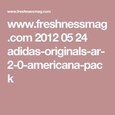 45f842054eba adidas Originals AR 2.0 - Americana Pack