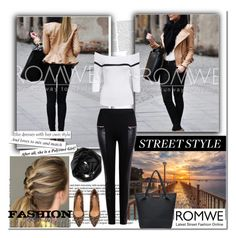 """""""Romwe 3"""" by followme734 ❤ liked on Polyvore featuring moda, Calvin Klein, H&M y romwe"""