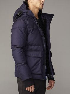 EM1010 Kensington Hooded Down Jacket – EFM Menswear