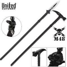 Zombie Tactical Gear | M48 Kommando Survival Axe, Spear, Hammer and Zombie Slayer Combo