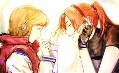 Resident Evil 2 - Sherry Birkin and Claire Redfield