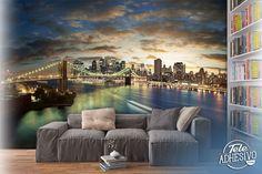 Fotomurales: New York Cityscape #Nueva #York #manhattan #deco #decoración #pared #vinilo #TeleAdhesivo