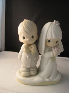 Precious-Moments-Wedding-Bride-amp-Groom-Cake-Topper-The-Lord-Bless-You-Jon-David