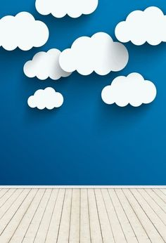 Vinyl Photography Backdrops Blue Sky And White Clouds Wall Background Wattpad Background, Kids Background, Blue Sky Background, Photo Background Images, Paint Background, Background For Photography, Photography Backdrops, Photo Backgrounds, Wallpaper Backgrounds