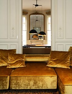 Feast your eyes on this Paris apartment designed by Karl Fournier and Olivier Marty of the architectural firm Studio Ko...