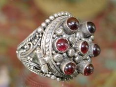 """poison ring"" garnet I have one just like this -B Poison Ring, Ga Ga, Magic Ring, Game Item, Garnet Rings, Medieval Castle, Jewel Box, Gems And Minerals, Cool Items"