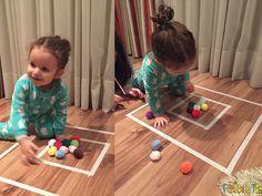 Brincadeira simples e rapida pra distrair as criancas - gabi brincando de outras formas