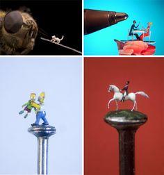 Willard Wigan's Amazingly Tiny Sculpture