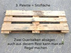 Building furniture from pallets - instructions - Haus & Garten - İdeen Pallet Sofa, Diy Pallet Furniture, Classy Living Room, Wooden Containers, Magnifying Mirror, Building Furniture, Diy And Crafts, Interior Decorating, Plexus Products