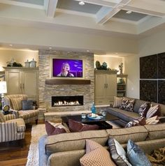 ^Love the fireplace^