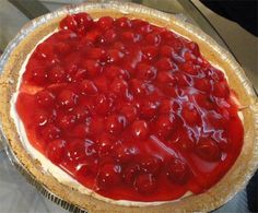 No Bake Cherry Cheesecake Pie Recipe - Food.com - 17509