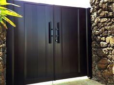 Gate Series — KunkelWorks Front Gate Design, Main Gate Design, Door Gate Design, House Layout Plans, House Layouts, House Plans, Home Entrance Decor, House Entrance, 5 Marla House Plan