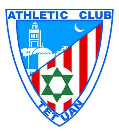 ESCUDO DEL ATHLETIC CLUB TETUAN EN 1935