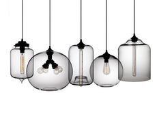 A modern twist on vintage steampunk style bulbs for a bit of ambient lighting