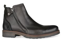 Shoe Connection - Wild Rhino - Hunter mens leather lace-up ankle boot. $229.99 https://www.shoeconnection.co.nz/mens/boots/lace-up-boots/wild-rhino-hunter-leather-ankle-boot?c=Black