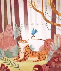 In the jungle on Behance