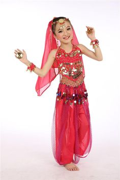 Belly dance costume for girls belly dancing clothes indian dance costumes  dance clothing festival clothing girls ad4e9d296d97