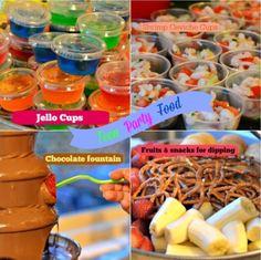 http://eightymphmom.com/2012/10/teen-party-food-ideas.html