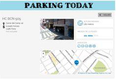 wesmartPark Parking - HC Bcn - Ubicación: Carrer del Camp, 42. Únete a la #parkvolucion y a la economía colaborativa!