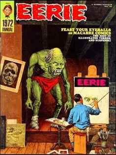 Eerie magazine cover