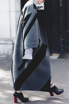 The 8 Chicest Coat Trends of 2016 via @PureWow