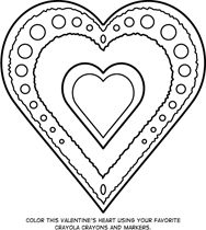 Free Printable Valentine Coloring Pages For Kids ...
