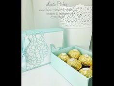 Papercraft With Crafty: Envelope Punch Board Chocolate Box Revisited