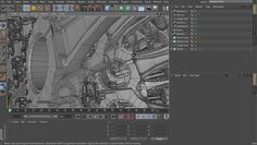This is a very brief demonstration of Cinema 4D's Mograph speed.