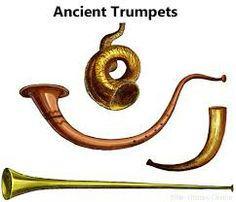 ancient trumpet shapes
