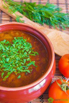Суп харчо с грибами | soup kharcho