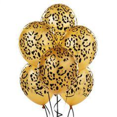 Amazon.com: Leopard Spots Latex Balloons Party Accessory: Clothing on Wanelo