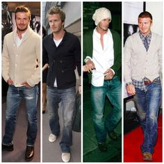 DAVID BECKHAM has the best style.