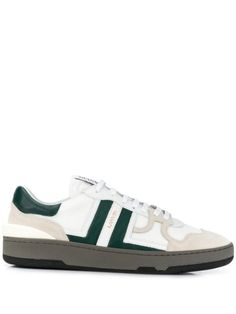 LANVIN Clay Leather low-top Sneakers - Farfetch