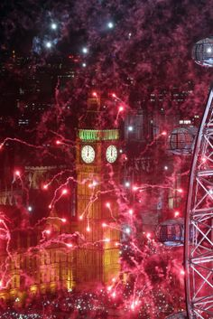 London, New Year's Eve