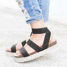 87892fa83a6d Buy Sandals For Women at Variedshoes. Online Shopping Variedshoes Stretchy  Espadrille Platform Sandals