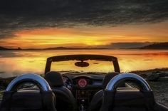 14 Sunrises Through the Seasons: Top Down Daybreak Drives from Winter to Summer