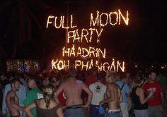 Fullmoon party ,Koh Phangan, Thailand