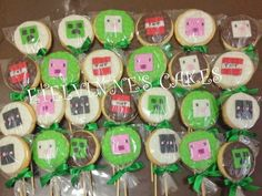Etelvinne's Cakes: BOLACHAS MINECRAFT/ cookies Minecraft
