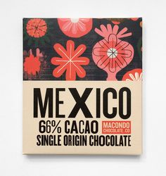 Neasden Control Centre, the studio name of artist Stephen Smith, is behind the eye-catching illustrations that feature on the Macondo Chocolate Co.'srange of five 'single origin' flavours.The project was designed and art directed by Redruth-basedA-Side Studio –the Macondo brand is also a Cornish-made product, fromKernow Chocolate. Seemacondochocolate.co