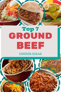 Top 7 Ground Beef Dinner Ideas (as voted on by our FB fans)