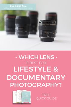 Photography Tips | Lifestyle Photography | Camera Gear | Documentary Photography | Which Lens