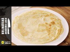 Palačinkové těsto - Roman Paulus - Kulinářská Akademie Lidlu - YouTube Lidl, Camembert Cheese, Roman, Dairy, Food, Youtube, Meal, Essen, Hoods